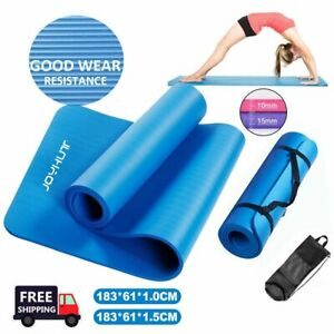 Gymnastikmatte 183x61x1cm Yogamatte Yoga Pilates Matte Sportmatte Fitnessmatte