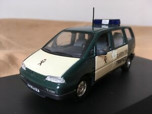 Antigua-miniatura-1-43-Scale-Carr-PR042-Peugeot-806-de-la-Guardia-Civil