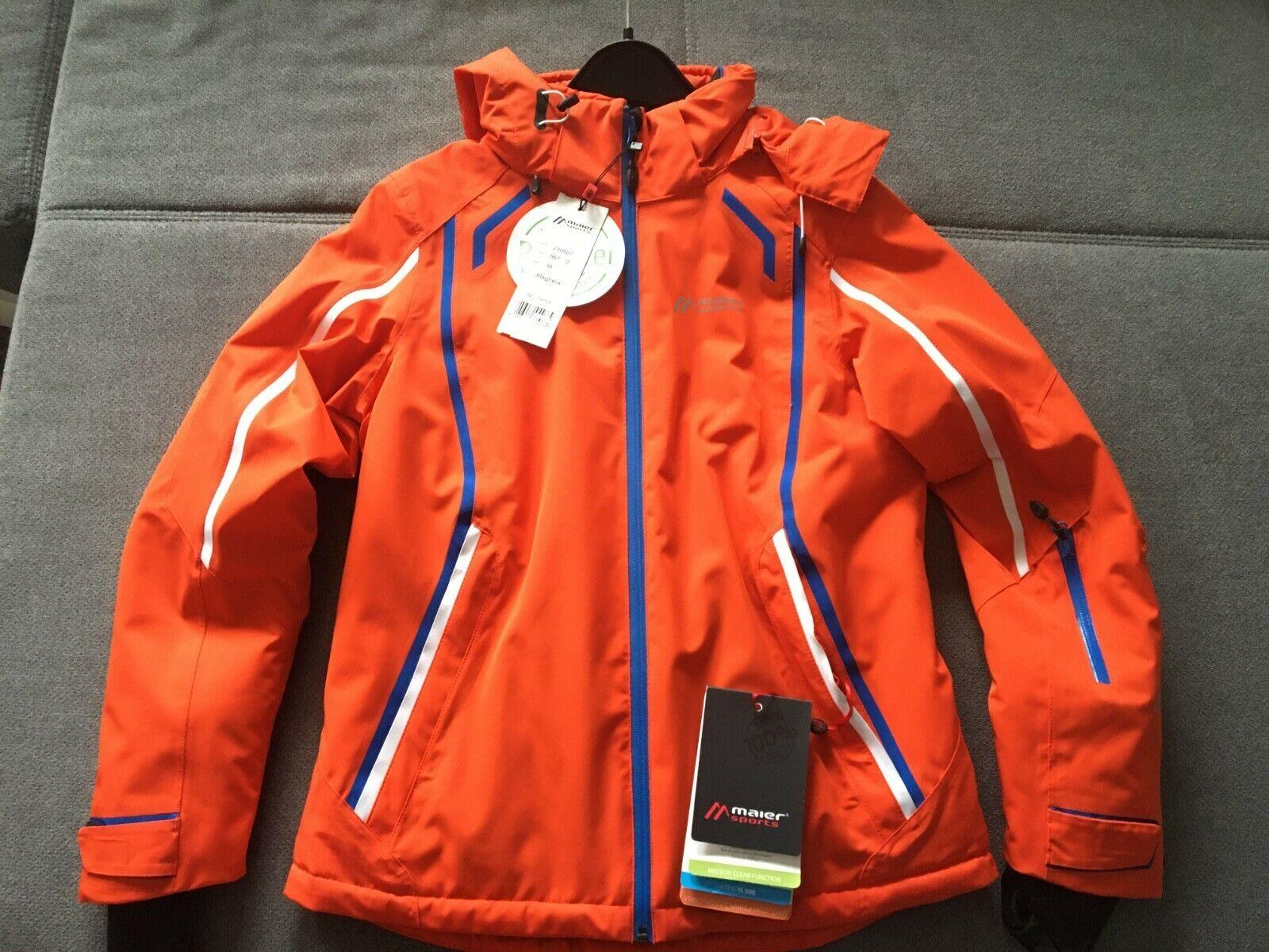 Maier Sports Damen Skijacke Orange Größe 36 S Neu VK 269,00 EUR