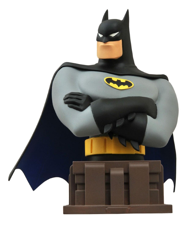 BATMAN  The Animated Series - Batman 6  Bust (Diamond Select Toys)  NEW