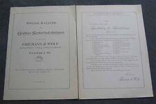 Kopie Katalog Friemann&Wolf Zwickau 1903 Grubenlampe