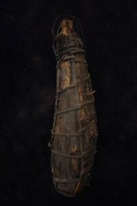 Old Highlands Woven Vessel Container - Papua New Guinea mid 20thC