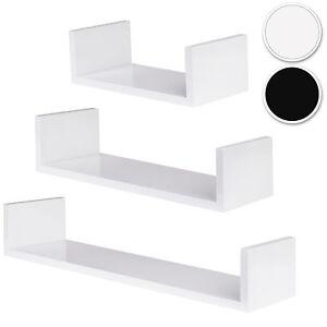 Set-di-3-mensole-design-muro-mensola-libreria-pensile-scaffale-legno-CD