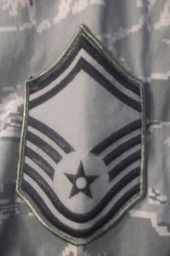 Military ABU Shirt 14R Tiger Stripes Airman Battle UniformUSAF Digital Womens308