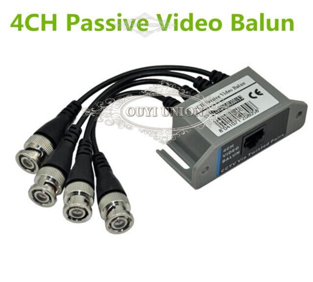 Wholesale UTP 4CH passive transformer Transceive BNC UTP RJ45 electronic