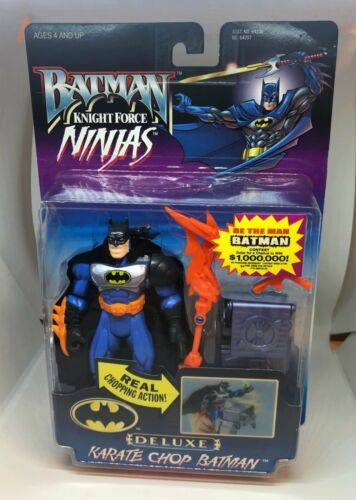Kenner 1998 Batman Knight Force Ninjas action figures