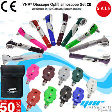 YNR Otoscope Ophthalmoscope LED F.O Opthalmoscope ENT Diagnostic Examination Set