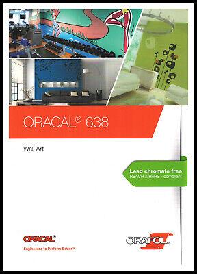 Hell Oracal 638 Farbkarte - Mit Originalmuster - Orafol Plotterfolie