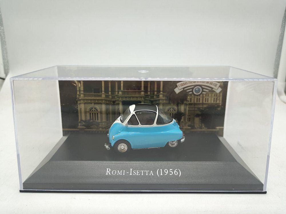 3pcs Suit 1 43 Scale ROMI ISETT(1956) Car Model Best Collection Gift