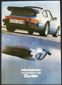 PORSCHE-911-TURBO-COUPE-40th-ANNIVERSARY-HERITAGE-SHOWROOM-POSTER-1980-2004