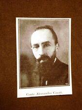Il conte Alessandro Casati nel 1923 Milano, 5 marzo 1881 – Arcore, 4 giugno 1955