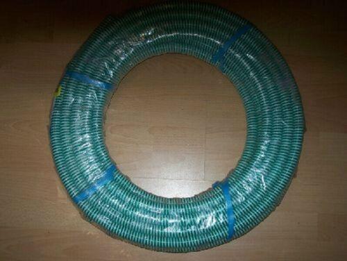 """Meterware Kunststoff Spiralschlauch 1/"""" Ansaugschlauch Druckschlauch Garten Teich"""