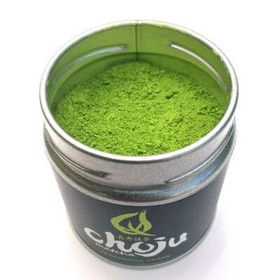 40g Choju Matcha CEREMONIAL GRADE + BAMBOO WHISK green tea powder Uji JAPAN set