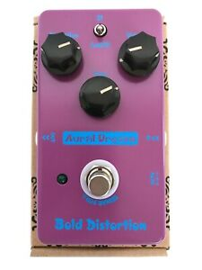 New-Aural-Dream-Bold-Distortion-Analog-Guitar-Effect-Pedal