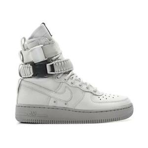 buy online 49125 e8607 Details about Women's Nike SF AF1 857872-003 Vast Grey/Vast Grey SZ 5-11  SUEDE Special Fields
