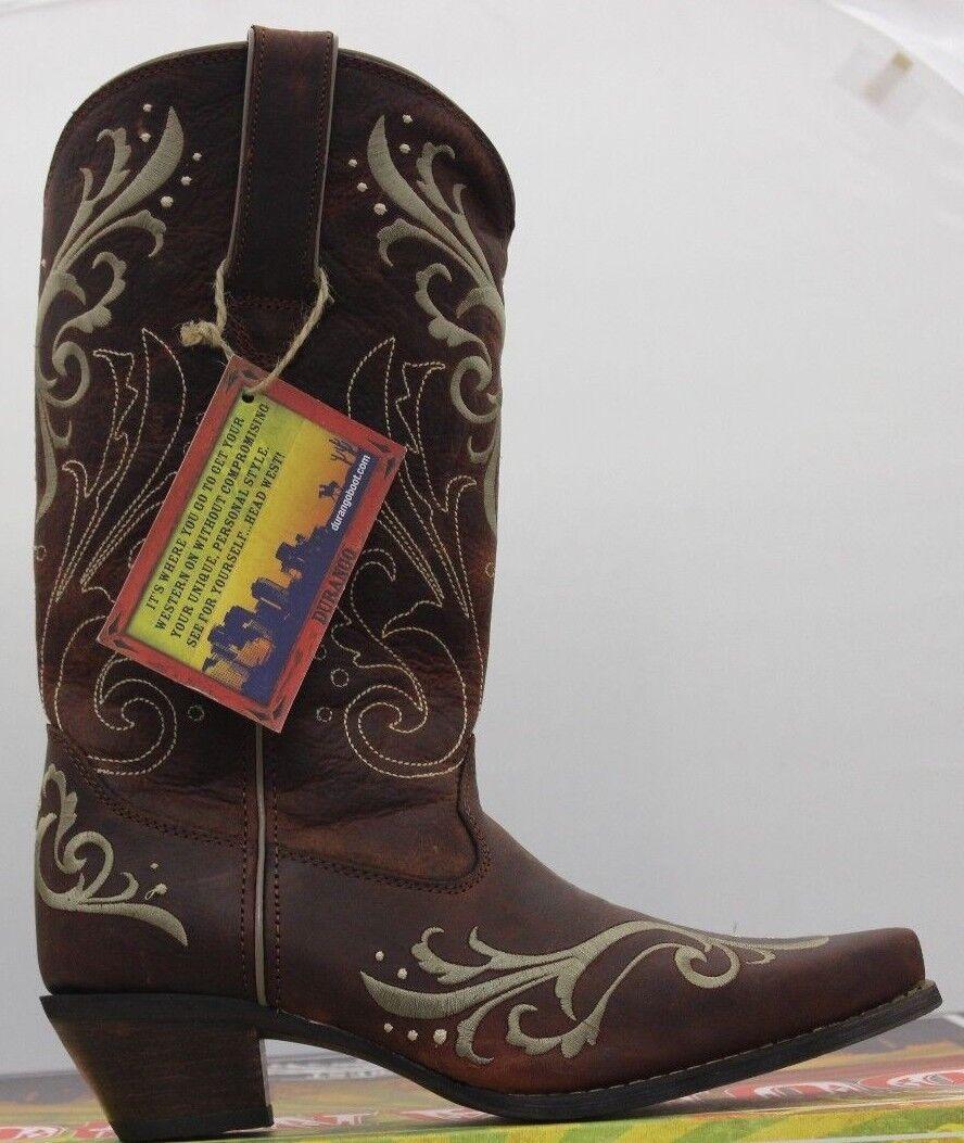 bellissima Donna  Durango Crush 12  Cowboy Cowgirl Sexy Stitch Stitch Stitch avvio DCRD133 Brand New  vendita con alto sconto