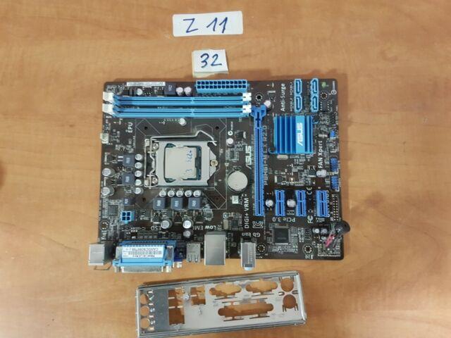 Asus P8h61 Intel Cpu I3
