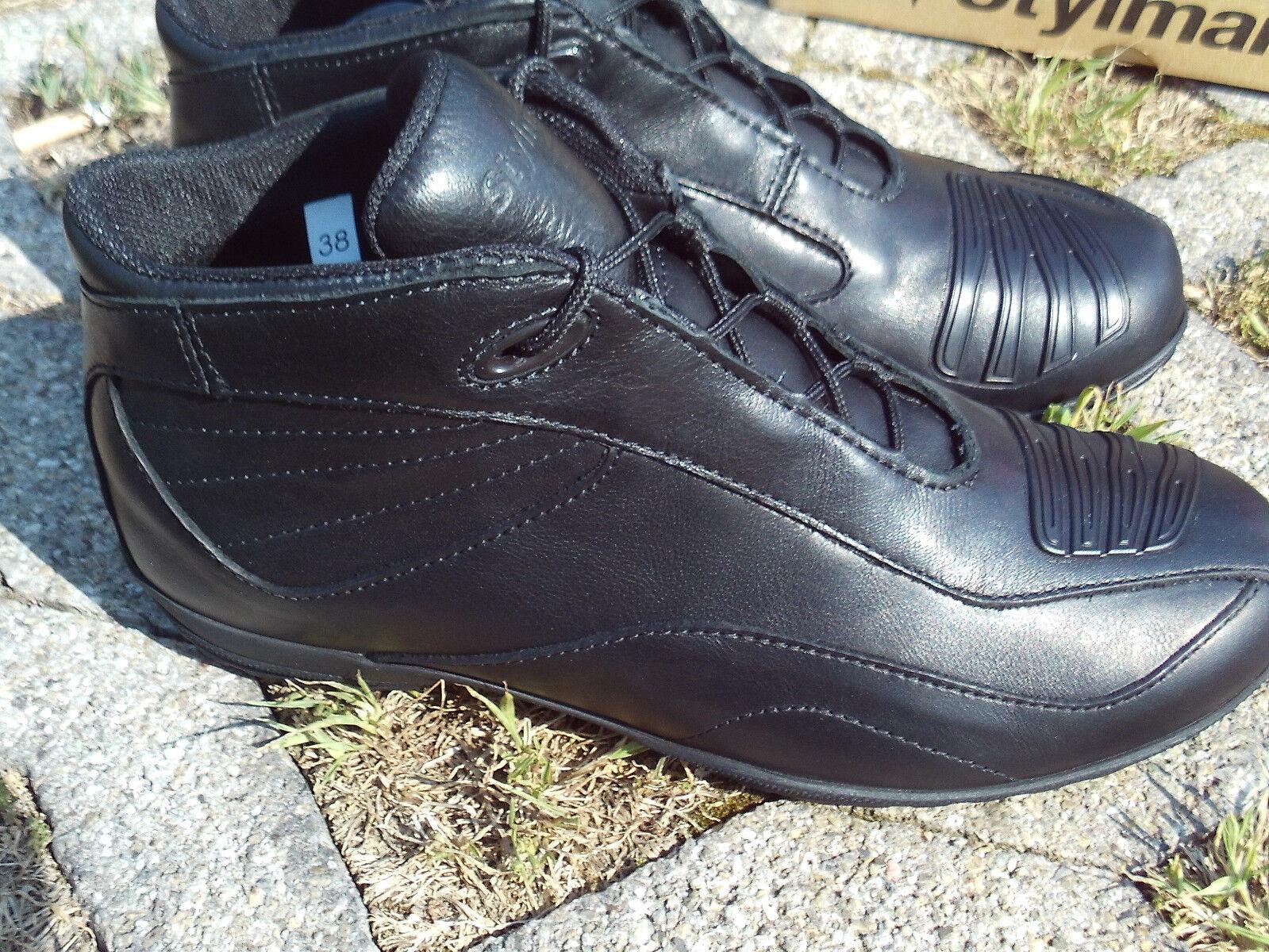 Stylmartin Norwich Low schwarz Motorrad Stiefel Freizeitschuhe Sneaker Größe 39