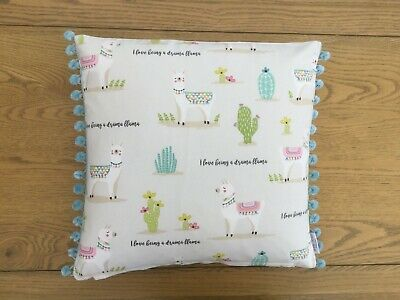 FRYETTS AMORE IN DUCK EGG Hand made Decorative Floral multi size cushion cover