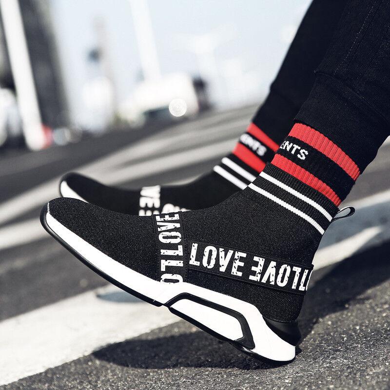 Para mujeres Zapatos Zapatos Zapatos sin Taco Athletic Tenis Calcetines Correr Transpirable Deportes botas al tobillo  promociones de equipo