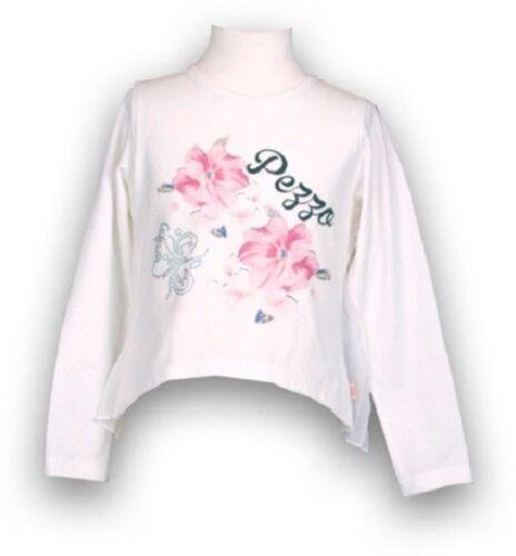 creme Jerseyfutter im Sale minus 50/% Mädchen Blusenshirt mit Plisse Rücken