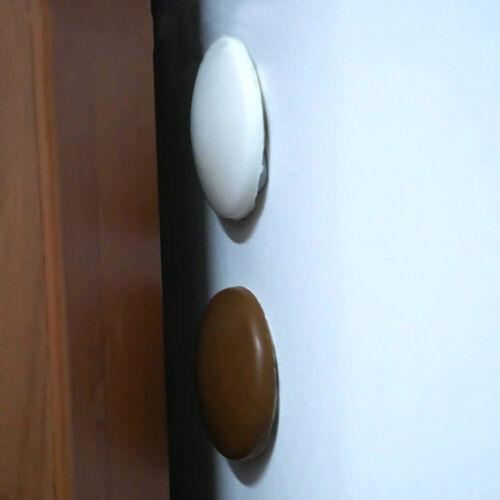 Wall Protector Door Handle Bumper Guard Stopper Self Adhesive Rubber Crash Pad~