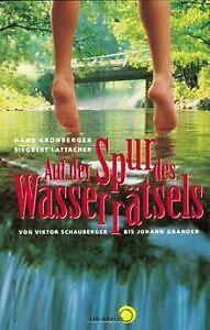 Auf-der-Spur-des-Wasserraetsels-von-Hans-Kronberger-Buch-Zustand-gut