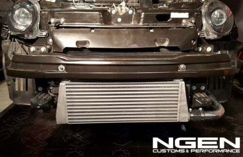 NGEN Front Mount Intercooler Kit V2 by CHQ for Fiat 500 Abarth//500T FMIC