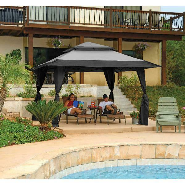 Patio Party Tent Wedding Large Gazebo Instant Canopy 13 x 13 Ft Outdoor Shelter