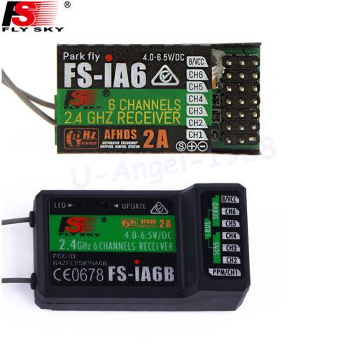 FlySky FS-iA6 6 CANAL RÉCEPTEUR AFHDS 2 A 2.4 G Système d/'émetteur