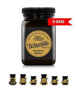 Manuka Honig B-WARE Waimete MGO 50 bis 829+ (250- 500g) aus Neuseeland