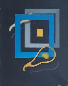 Art contemporain, symbolisme - G. Beaudoin - Défenestration - 1979