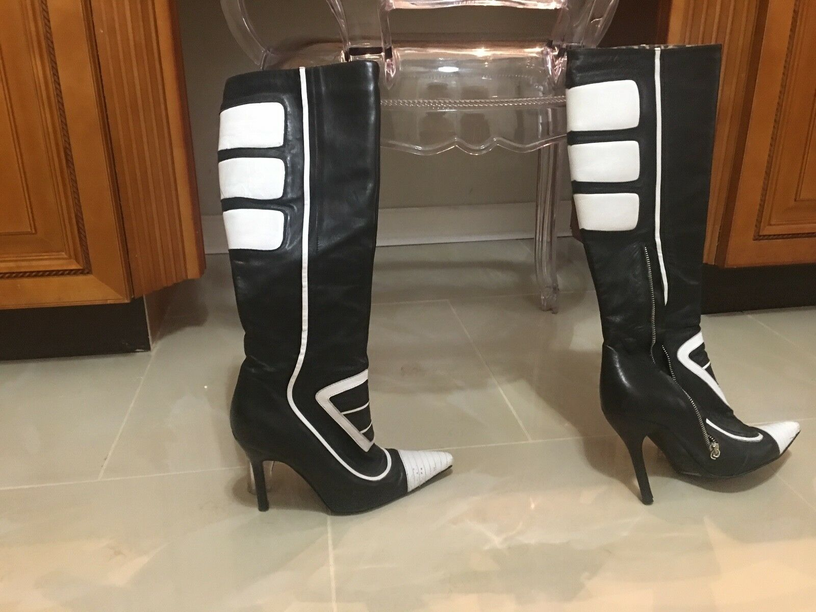 Dolce & Gabbana Leather Boots