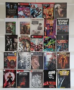 Fantastic-Four-Rising-Stars-Inferno-Marvel-Preview-25-Comic-Book-Lot-Comics-Run