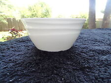 Noble Excellence Hawaii Embossed Wave Design Small White Bowl