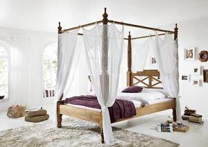 Letti Di Design In Legno : Fantastico lusso baldacchino di massiven palissandro legno letto
