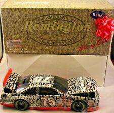 1997 Action Rick Mast #75 Remington Mossy Oak Bank Ford Thunderbird 1:24