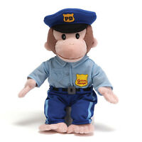 Curious George Policeman Doll - By Gund - 12 Inches - Brand - Style 4043741 Toys