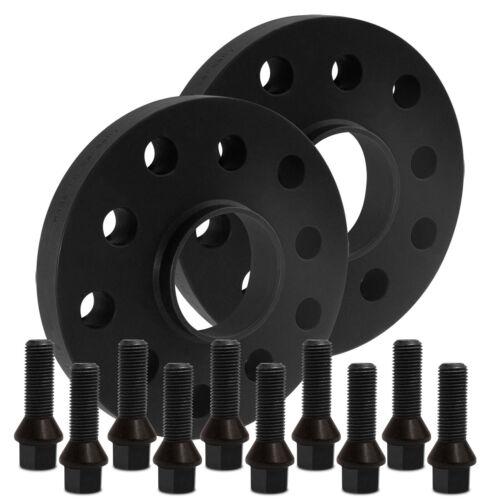 Blackline Spurverbreiterung 20mm mit Schrauben schwarz Alfa Stelvio 949 2016