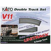 Kato 20-870-1 N Scale Unitrack V11 Set Double-track Set on Sale