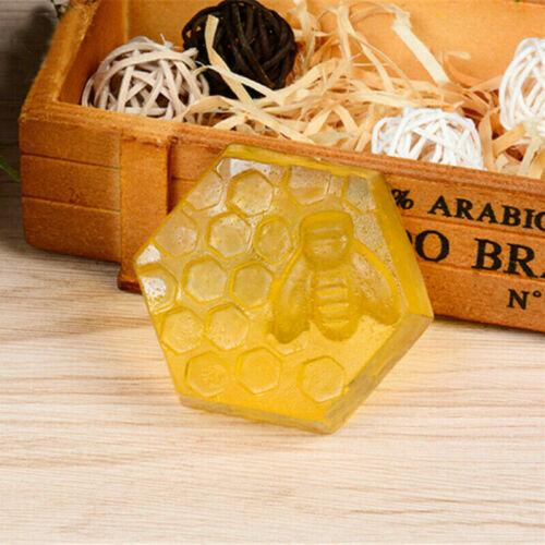 6 Cavity Silicone Honey Bee Soap Mold Mould Tray Handmade DIY Making Crafts