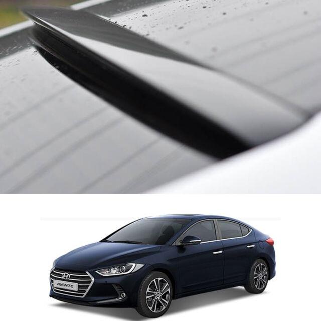Rear Spoiler Roof Black Color For Hyundai Elantra 2017 2018 Ebay
