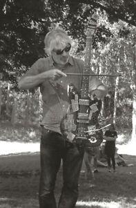 LEE RANALDO SONIC YOUTH POSTCARD STORM KING ART CENTER NEW WINDSOR  NY 8/9/15 ++
