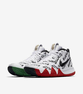 Nike MEN'S Kyrie 4 BLACK HISTORY MONTH SIZE 10 BRAND NEW EQUALITY