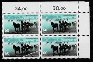 Mode 2019 Bund Brd Minr 1328 Cachet ** Groupe Bloc Coin 2-afficher Le Titre D'origine Magasin En Ligne
