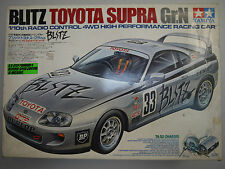 TAMIYA 58137 TA02 BLITZ TOYOTA SUPRA GROUP 4WD 1/10 -[ASSEMBLED]- VINTAGE TA01