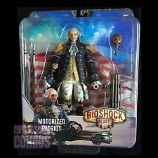 BIOSHOCK INFINITE George Washington MOTORIZED PATRIOT Action Figure Hitter NECA!