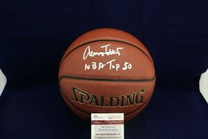 Jerry-West-Signed-Auto-F-S-Spalding-Zi-O-Excel-Basketball-W-NBA-Top-50-JSA-WP