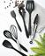 miniatura 2 - Set Utensili da Cucina in Silicone con porta utensili antiaderente high temper