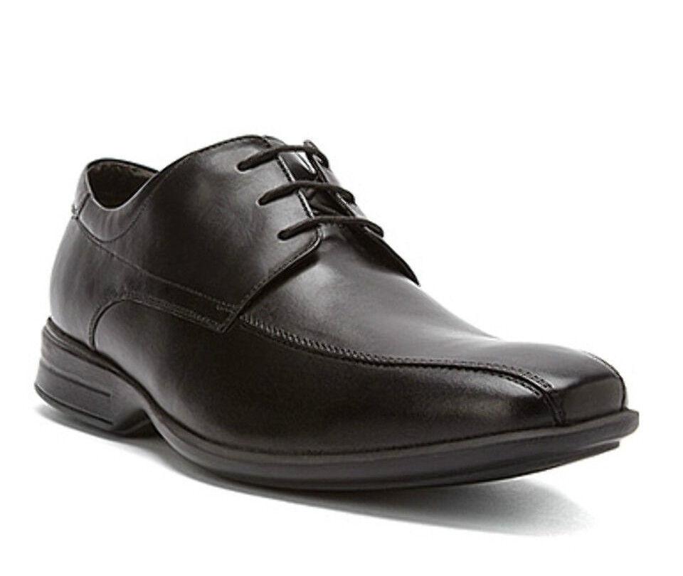 Clarks Herren Schuhe 'gadwell über 'schwarzes Leder